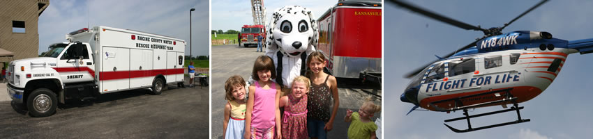 Kansasville FD Breakfast Visitors