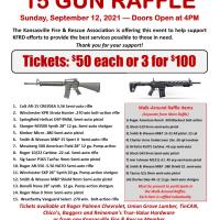 Fall 2021 Gun Raffle